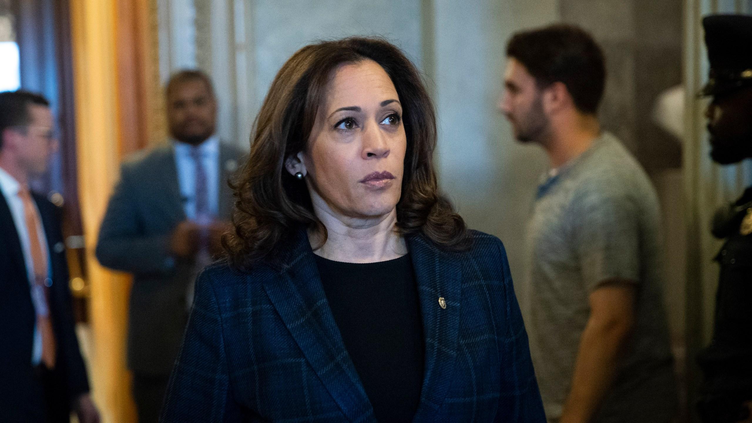 Sen Kamala Harris Visiting Iowa Ahead Of Midterm Elections