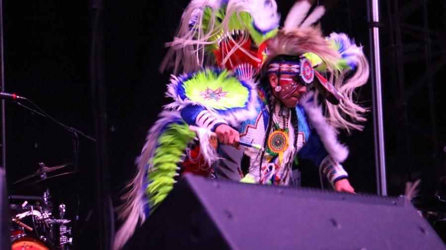 Meskwaki Dance Before Portugal. The Man